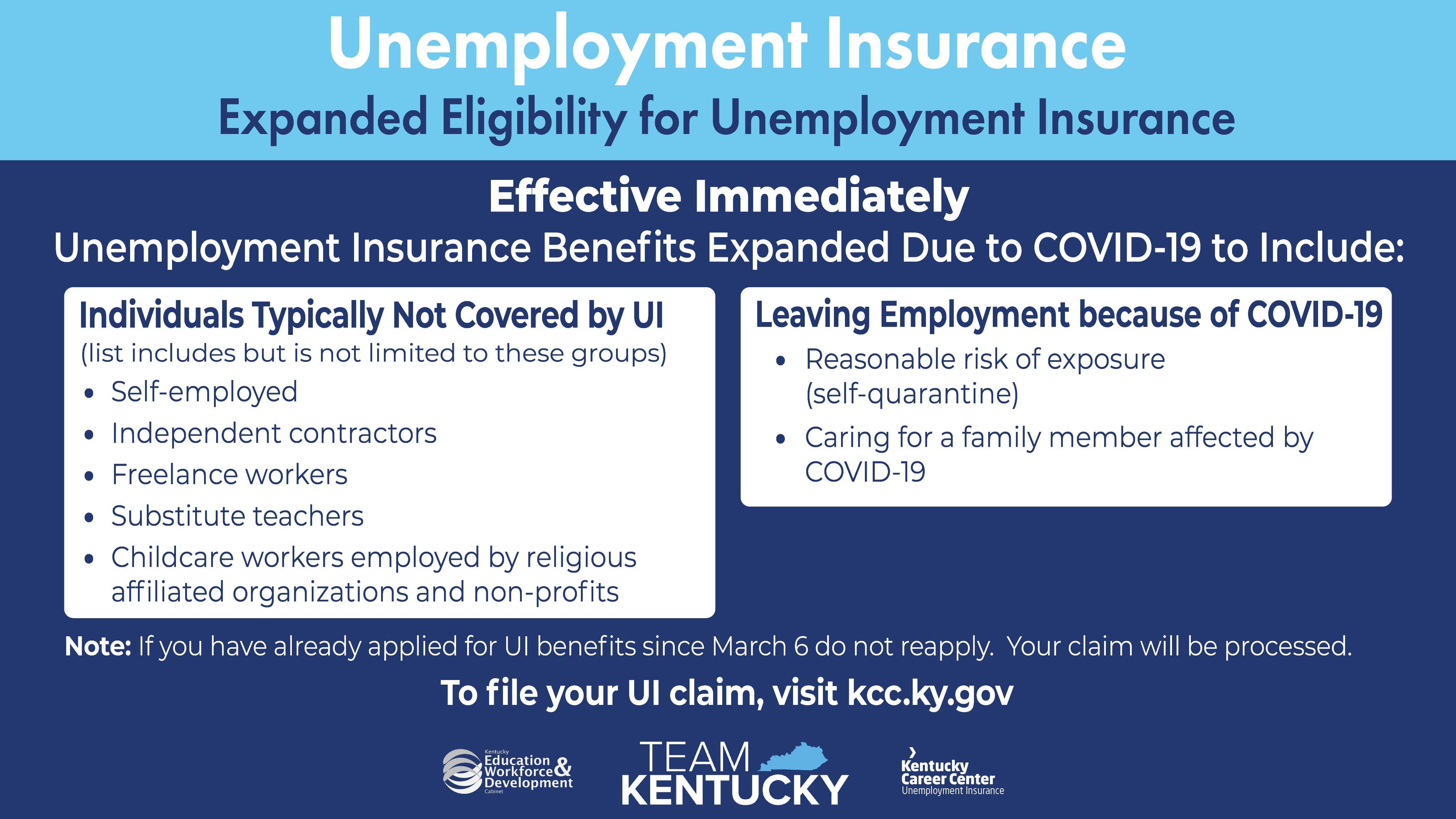 Unemployment Insurance Kentucky Chamber